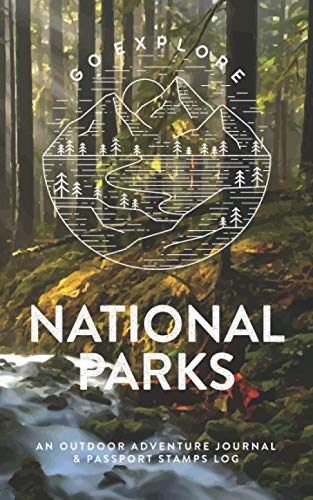 National Parks: An Outdoor Adventure Journal & Passport Stamps Log, Olympic