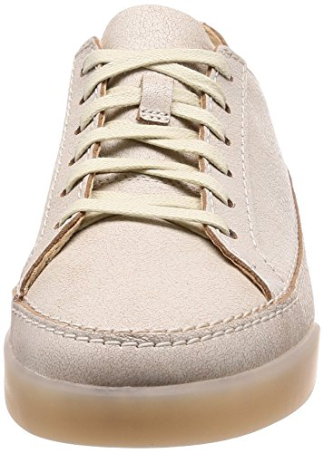 Basses Hidi white Sneakers Femme Leather Blanc Holly Clarks TtcvWd4qww