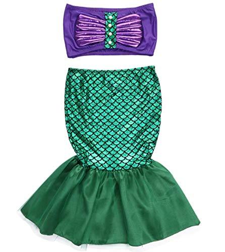 (Mermaid Halloween Costume - Girls Kids Toddler Ariel)