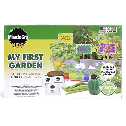 Miracle-Gro Kids My First Garden by Horizon Group USA - First Planters