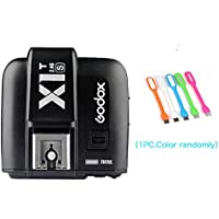 Godox X1T-S TTL 1/8000s HSS 2.4G Flash Remote Trigger Transmitter Compatible Sony Cameras+CONXTRUE USB LED (X1T-S Trigger)