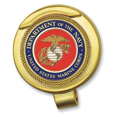 Amazon com : Marine Corps Hat Clip with Magnetic Ball Marker : Golf