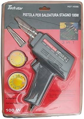 Dobo® Pistola Soldadura con LED funciona instantáneo Estaño Soldadura Electrónica