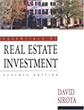 Essentials of Real Estate Investment, David Sirota and Kaplan Real Estate Education Staff, 0793143616