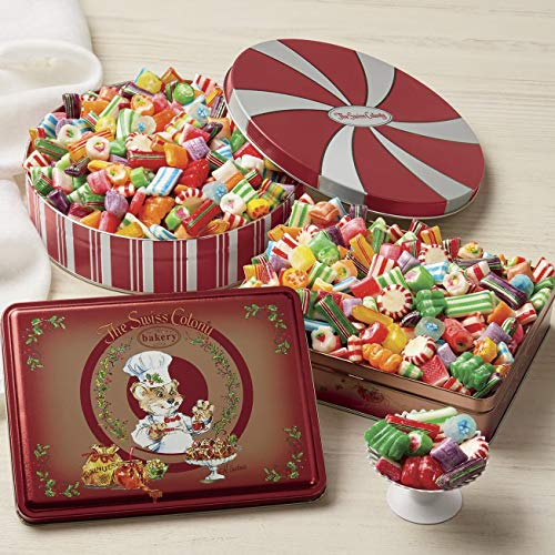 Old-Fashioned Christmas Candy, 1 lb. net wt. from The Swiss ()