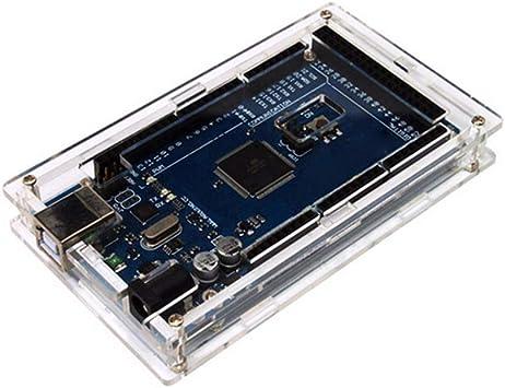 La Caja Protectora de acrílico Transparente más Nueva del Caso de Shell para Arduino Mega 2560 R3 Calidad Durable 114X65X18mm: Amazon.es: Electrónica