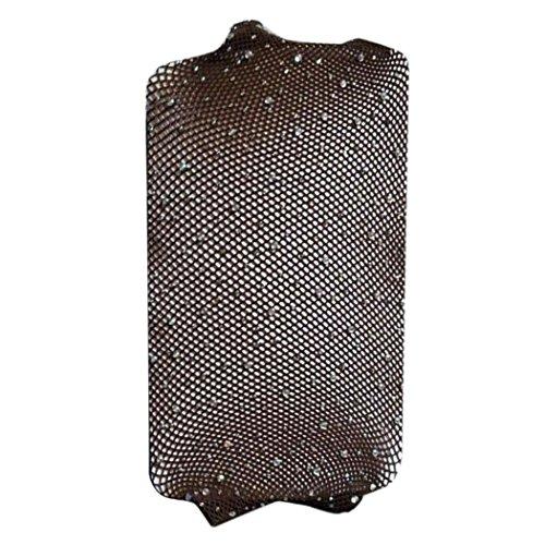 Calze Da Donna, Ragazze Alla Moda Inknet Rete Bodystockings Modello Collant Collant Calze Calzini Fish-net Marrone