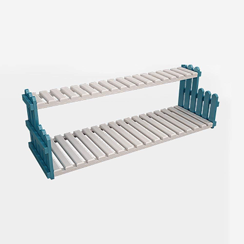 bluee 302030cm BXJ Home Gardening Nanzhu Desktop miniracks, Multilayer Racks, succulentracks, (color   Bamboo, Size   30  20  30cm)