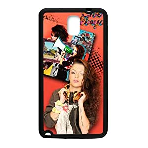 Music Girl Fashion Comstom Plastic case cover For Samsung Galaxy Note3