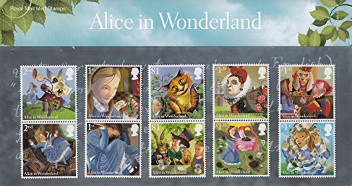 Alice's Adventures in Wonderland Presentation Pack Collectible Postage Stamps UK - Uk Stamp