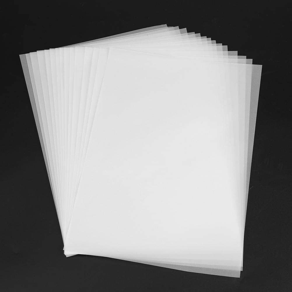 100pcs Transparency Tracing Paper Craft Copying Calligraphy Artist Drawing Sheet