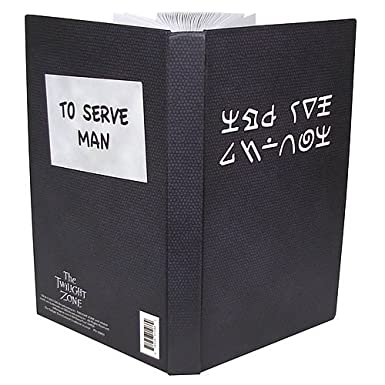 "The Twilight Zone Kanamit ""To Serve Man"" Cookbook Journal"