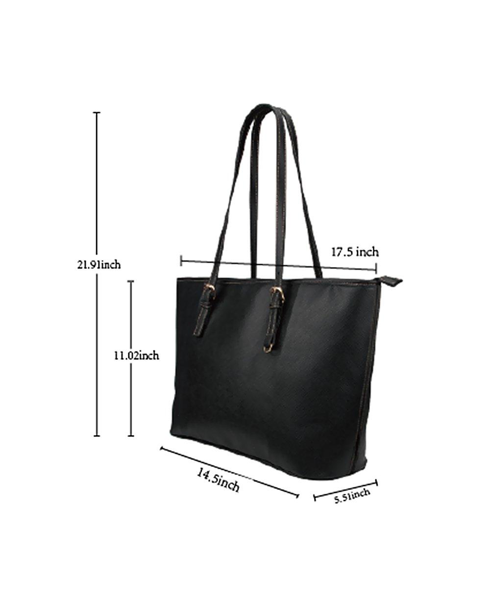 InterestPrint Fashion I Love Paris Eiffel Tower France Women's Leather Handbags Ladies Shoulder Bag Tote Bags by InterestPrint (Image #5)