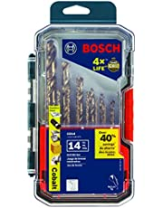 Bosch CO14 Cobalt Metal Drill Bit Set (14Piece)