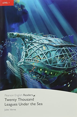 Pearson English Readers 1: 20,000 Leagues Under The Sea Book and CD Pack: Level 1