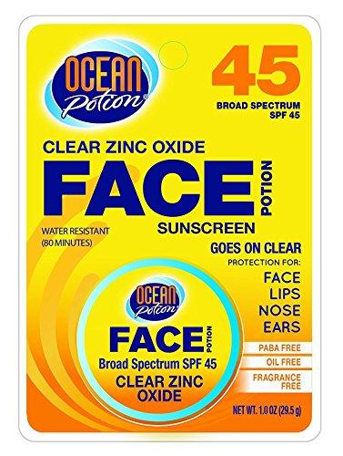 Ocean Potion Sunscreen Ingredients