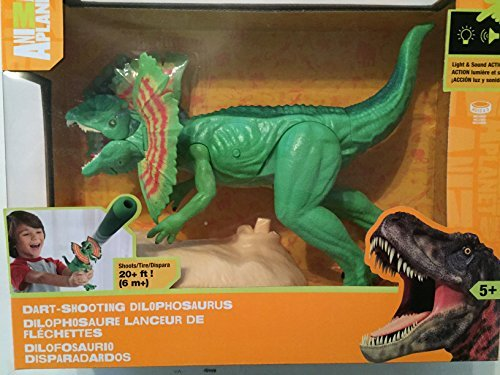 Animal Planet Dart - Shooting Dilophosaurus Light & Sound Dinosaur by Toys R Us