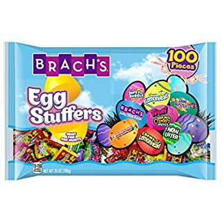 Brach's Stuffers Easter Candy Variety, 100 Pieces (Pack of 2) Individually Wrapped