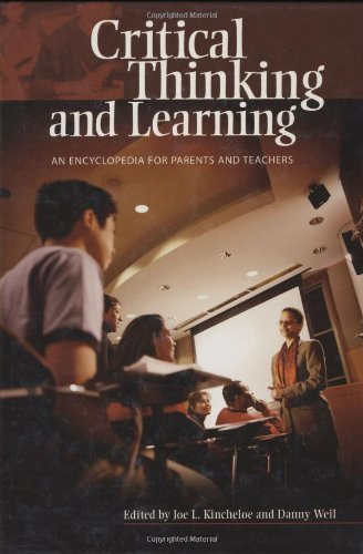 Download Critical Thinking and Learning: An Encyclopedia for Parents and Teachers Pdf