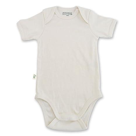 grünspecht bio de Body para bebé de manga corta, cultivo ...