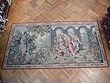 FRENCH EUROPAEN ART Handmade 12x6 Wall Hanging Tapestry