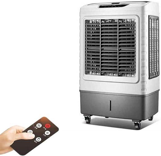 Aire acondicionado móvil XIAOYAN Ventilador Industrial con función de sincronización y oscilación, refrigerador de Aire Grande de 27 litros, Funcionamiento Remoto silenciado para fábrica Comercial: Amazon.es: Hogar