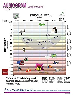 Amazon com: Audiogram of Everyday Sound Poster 12x17inch