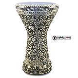 Gawharet El Fan 18.5'' The Arabian Shield NG Sombaty Mother of Pearl Darbuka Doumbek Drum