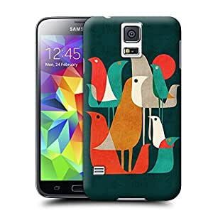 Unique Phone Case Flock of Birds Hard Cover for samsung galaxy s5 cases-buythecase