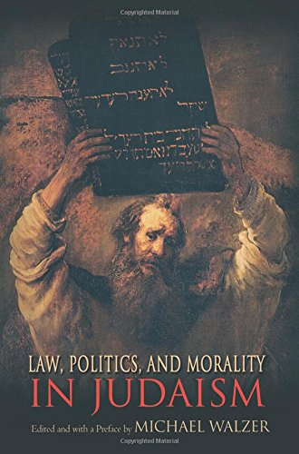 Law, Politics, and Morality in Judaism (Ethikon Series in Comparative Ethics) -  Paperback