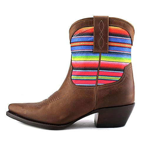 Lucchese Womens Kacey Musgraves Monterrey Cowgirl Boot Spetsig Tå - Km4500 Tan