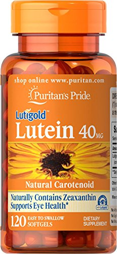 Puritans Pride Lutein 40 Mg With Zeaxanthin