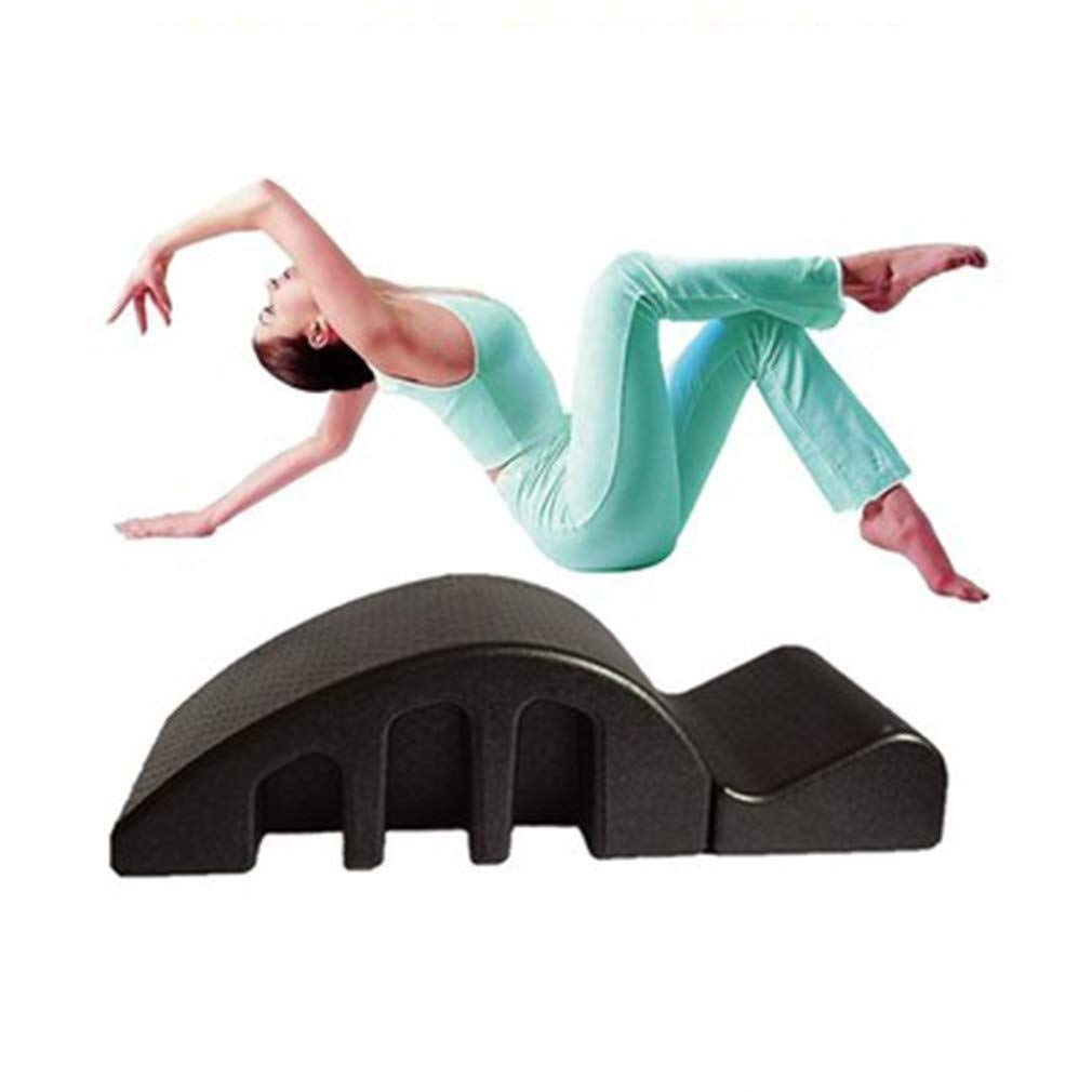 Pilates Yoga Wedge Reformer Back Pain Relief Arc Step Bucket Back Curve Health Alignment of The Spine Large Spine Yoga…