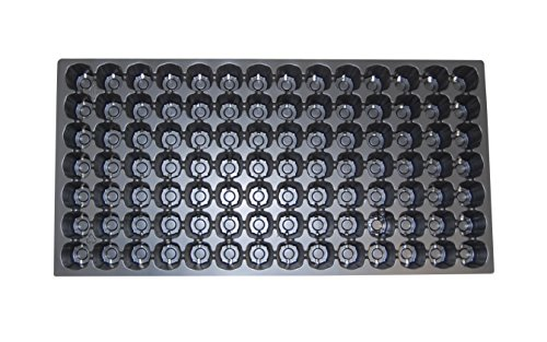 98 Round Cell Prop Tray - Propagation/Seed Starting Tray - 100 trays by Growers Solution by Grower's Solution