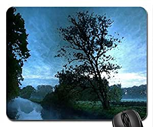 Nature Mouse Pad, Mousepad (Watercolor style) by runtopwell