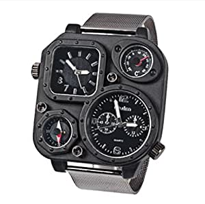Oulm Europe radium watch men strip the concept of multi-functional outdoor waterproof sports watch compass military watch list