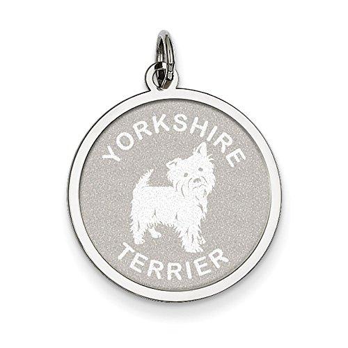 Yorkshire Terrier Disc Charm - 1