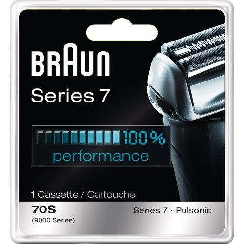 Braun Series 7 Combi 70S Cassette Replacement Pack (Formerly 9000 Pulsonic) (Pack of 3)