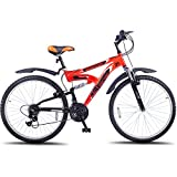 Hero Octane 26T Mercury 21 Speed Junior Cycle  17.5-inches (Red)