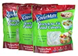 Covermate Stretch-to-fit Food Covers 3 pack
