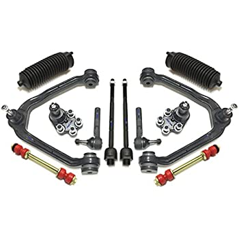 Stupendous Amazon Com 13Pc Complete Control Arm Front Suspension Kit For W Wiring 101 Akebretraxxcnl