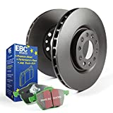 EBC Brakes S11KF1253 S11 Kits Greenstuff 2000 and RK Rotors Incl. Rotors and Pads Front Rotor Dia. 11.6 in. S11 Kits Greenstuff 2000 and RK Rotors