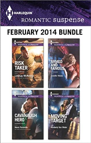 book cover of Harlequin Romantic Suspense February 2014 Bundle