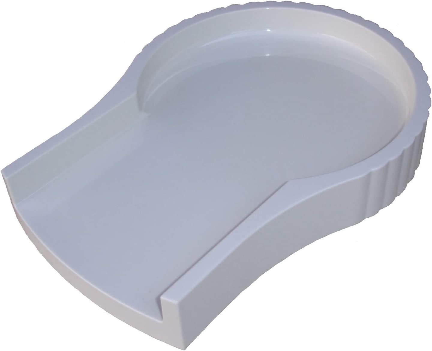 Jack LaLannes Juicer CL-003AP Overflow Platform Base Tray - White