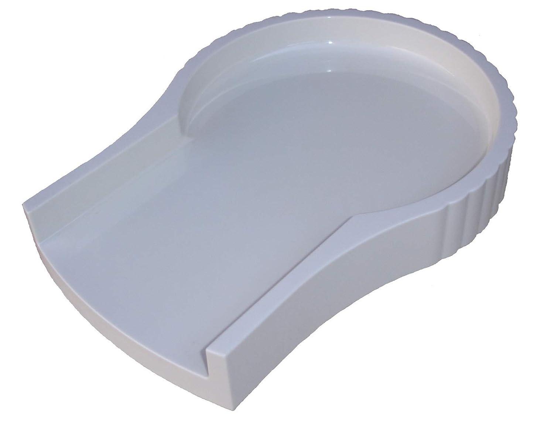 Jack LaLannes Juicer CL-003AP Overflow Platform Base Tray - White