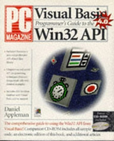 Pcm Visual Basic Programmers Guide to the WIN32 API by Appleman, Daniel, Appleman, Dan, Appleman (1996) Paperback