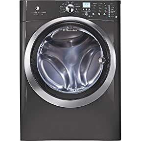 Electrolux EIFLS60LT IQ-Touch 4.33 Cu. Ft. Titanium Stackable With Steam Cycle Front Load Washer - Energy Star
