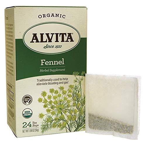 Fennel Seed Tea Organic Alvita Tea 24 Bag