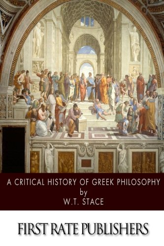 A Critical History of Greek Philosophy (Book published ...