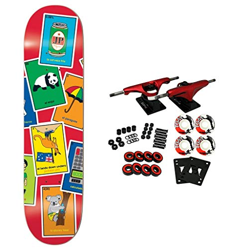 "Enjoi Skateboard Complete La Loteria Pilz 8.0"" for sale  Delivered anywhere in USA"